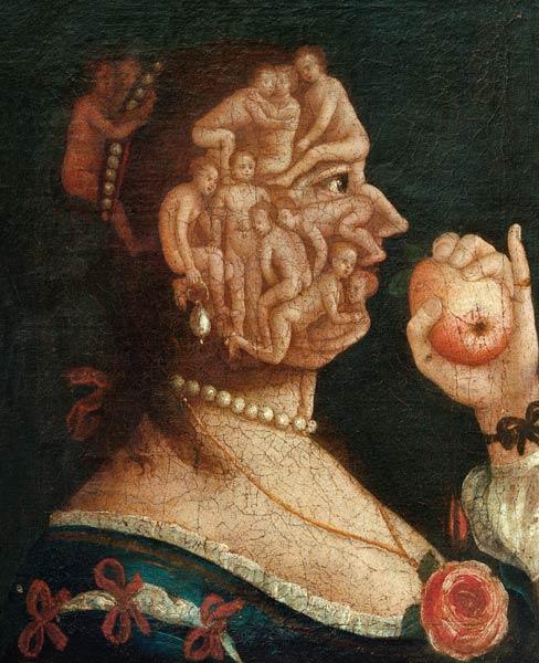 retrato de Eva