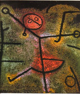 Bailarina Paul Klee
