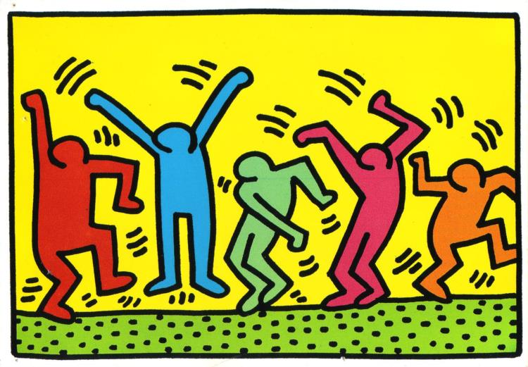 Dance Keith Haring