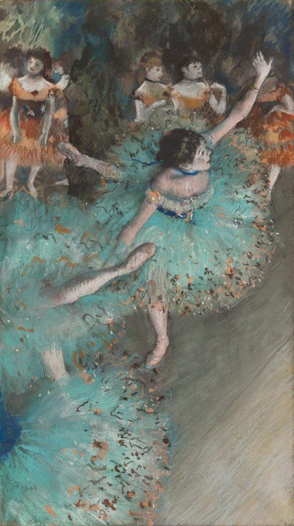 bailarinas verdes Degas
