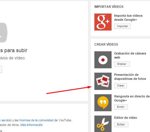 youtube crear