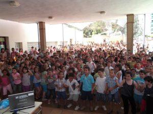 alumnos CEIP Emilio Díaz