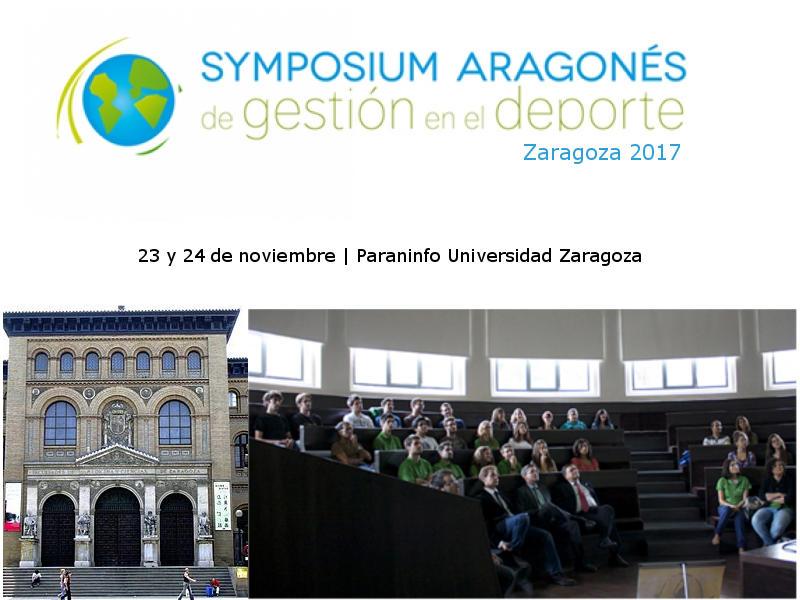 IV Symposium Aragonés de Gestión en el Deporte