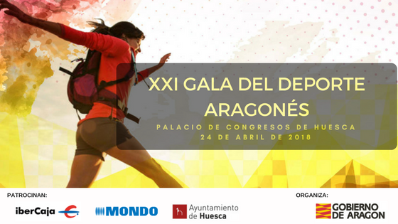 XXI GALA DEPORTE ARAGONÉS  2017