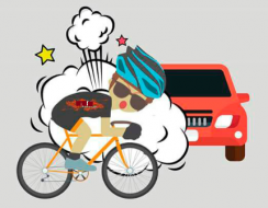 Seguridad vial para convivir ciclistas y conductores