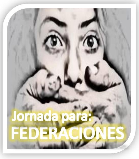 """Jornada: """"Presentación del servicio de asesoramiento a Federaciones Deportivas Aragonesas: Programa de prevención y detección de la violencia de género en el deporte""""."""