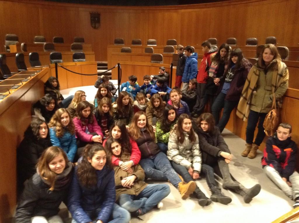 En el hemiciclo del Parlamento aragonés