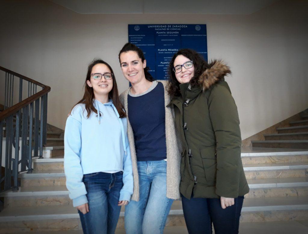 Marta Álvarez, Arantza Isasi y Jara Berdún